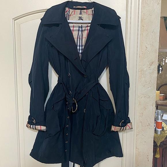 Burberry London nylon trench coat